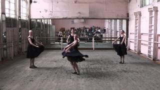 ГОСэкзамен по народному танцу. этюд на материале Татарского танца