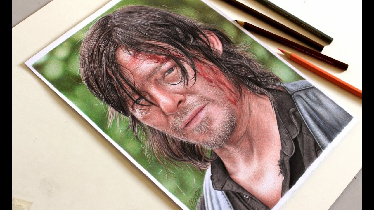 Drawing Daryl Dixon Desenhando Daryl Dixon The Walking Dead