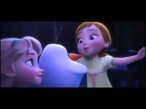 Karlar Ülkesi Elsa Ve Anna Oyun Oynuyor