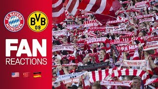 Fan Reactions From Around the World | FC Bayern vs. Borussia Dortmund 5-0