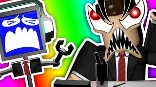 ESCAPE THE EVIL OFFICE OBBY ON ROBLOX!