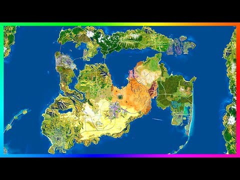 Rockstar Wants To Connect All The Grand Theft Auto Cities In One Big World Map On A Single NEW Game!