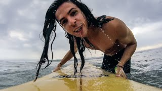 Video LEARNING TO SURF IN BALI, INDONESIA download MP3, 3GP, MP4, WEBM, AVI, FLV Agustus 2017