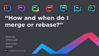 How and when d๐ I merge or rebase?