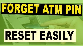 Forget Atm Pin : How TO Reset Forgot Atm Pin in pakistan (ALL BANKS)