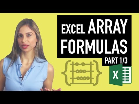 Excel Array Formula: Count Rows with OR condition - SUMPRODUCT & FREQUENCY Functions (Part 1/3)