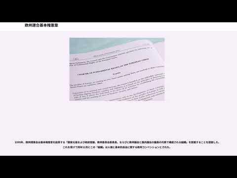 欧州連合基本権憲章 - YouTube
