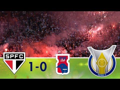Melhores momentos - São Paulo 1 x 0 Paraná Clube - Campeonato Brasileiro (16/04/2018)