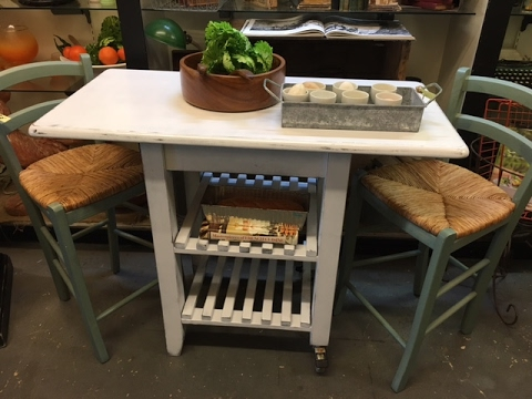 DIY project  $30 Kitchen island with just a screwdriver and sander