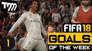 FIFA 18 - Top 10 Goals of the Week #1