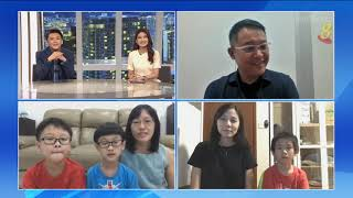 狮城有约 | 十分访谈:讲华语运动比赛 乐学华语