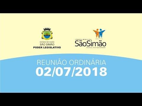 REUNIAO ORDINARIA 02/07/2018