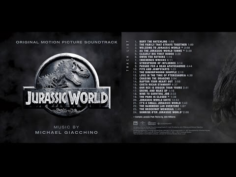 Jurassic World - FULL SOUNDTRACK (Michael Giacchino - 2015) + Booklet