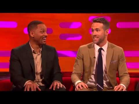 The Graham Norton Jan 29 2016 Will Smith, Ryan Reynolds, Catherine Zeta-Jones,...