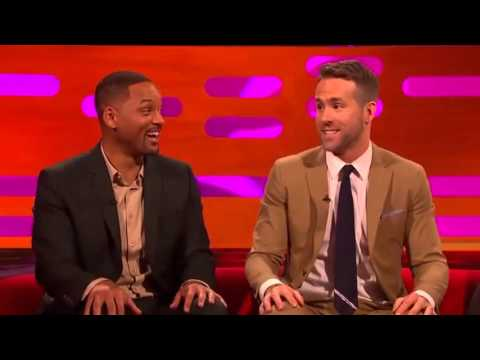 The Graham Norton Jan 29 2016 Will Smith, Ryan Reynolds, Catherine ZetaJones,...