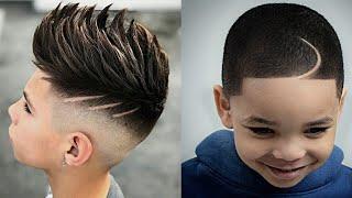 ✨Melhores CORTES de CABELO para CRIANÇAS/ Fade Barbeiros e Cabeleireiros 2018/2019 Masculino | Drygo