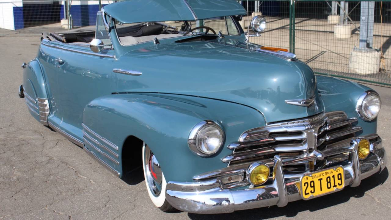 ramiro's '48 fleetmaster convertible - youtube