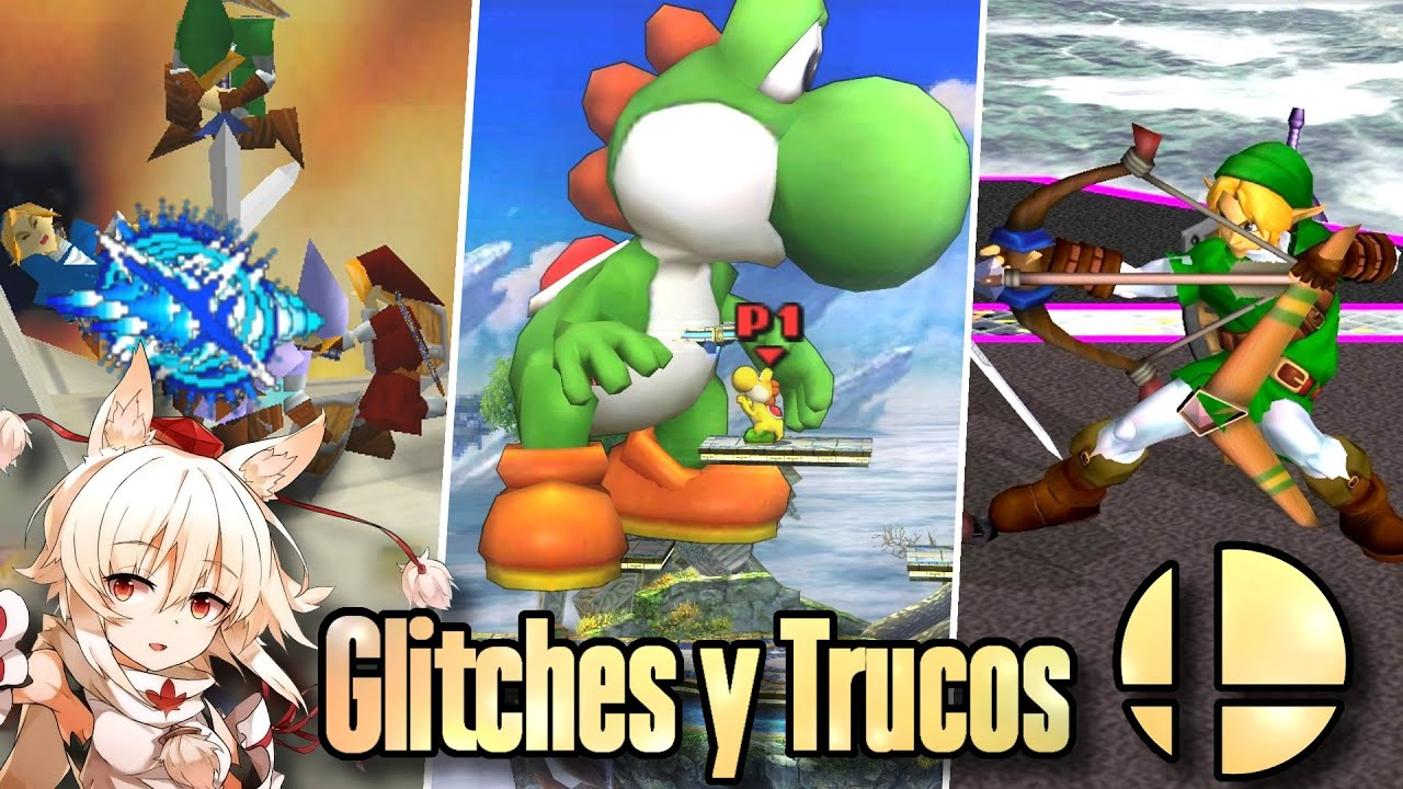 Glitches y Trucos de Super Smash Bros 64, Melee, Brawl, y 3ds