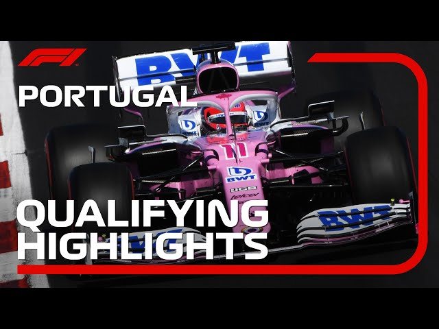 2020 Portuguese Grand Prix: Qualifying Highlights