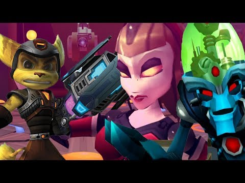 Ratchet & Clank 3: Up Your Arsenal - All Bosses (With Cutscenes) HD