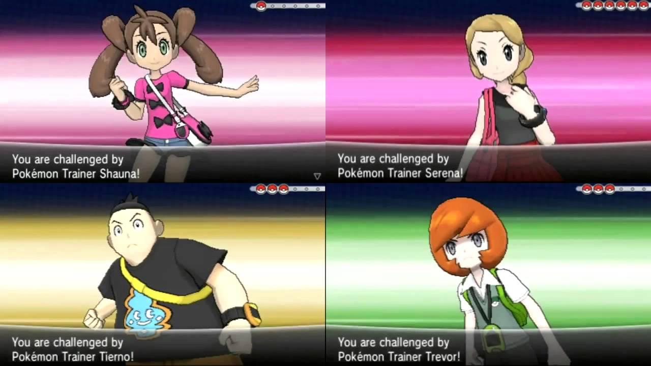 pokemon x and y rival theme w 3d animations youtube