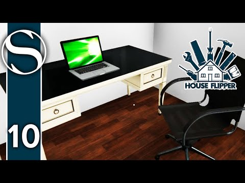 #10 Fixing The Office - House Flipper - House Flipper Gameplay