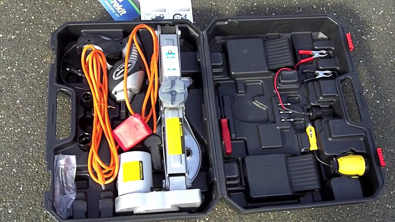 The Sparekit Tire Changing Kit Review Of Spare Kit For