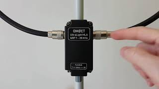 IMPROVED - UltraLight Magnetic Loop Antenna