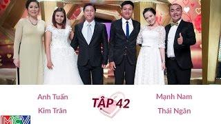 Mạnh Nam - Thái Ngân và Anh Tuấn - Kim Trân   VỢ CHỒNG SON   Tập 42   140525