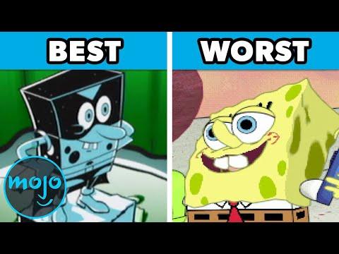 Top 10 Best and Worst SpongeBob Video Games