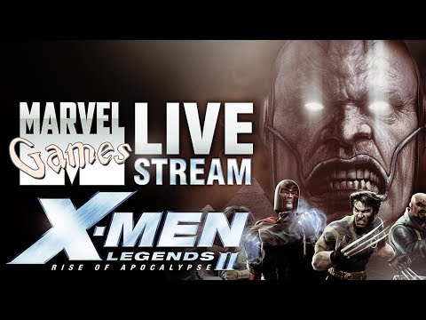 MG Live Stream #52 - X-Men Legends II: Rise of Apocalypse