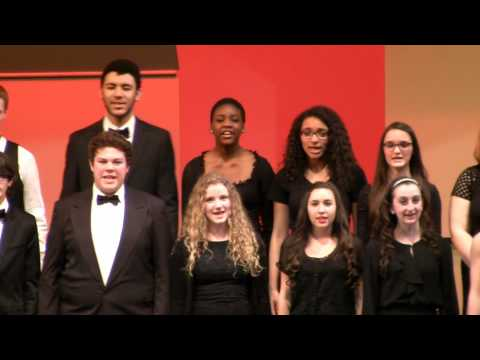 2014 12 10 MHS Honors Chorus - Below The Mistletoe