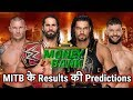WWE Money in the Bank 2019 Results & Winners Predictions. Ladder Match. Roman Reigns. Seth vs AJ.