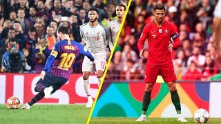 50 Insane Free Kicks In Football 2019 • HD