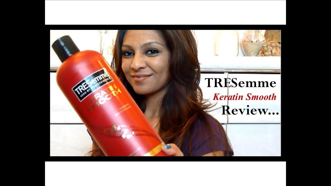 Tresemme Keratin Smooth Shampoo Review Youtube