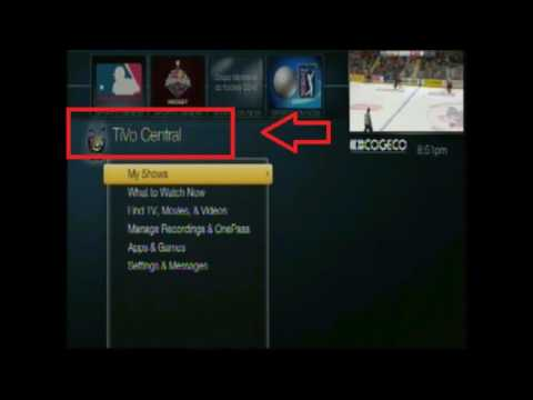 Tivo on Cogeco TV How to find (Search)