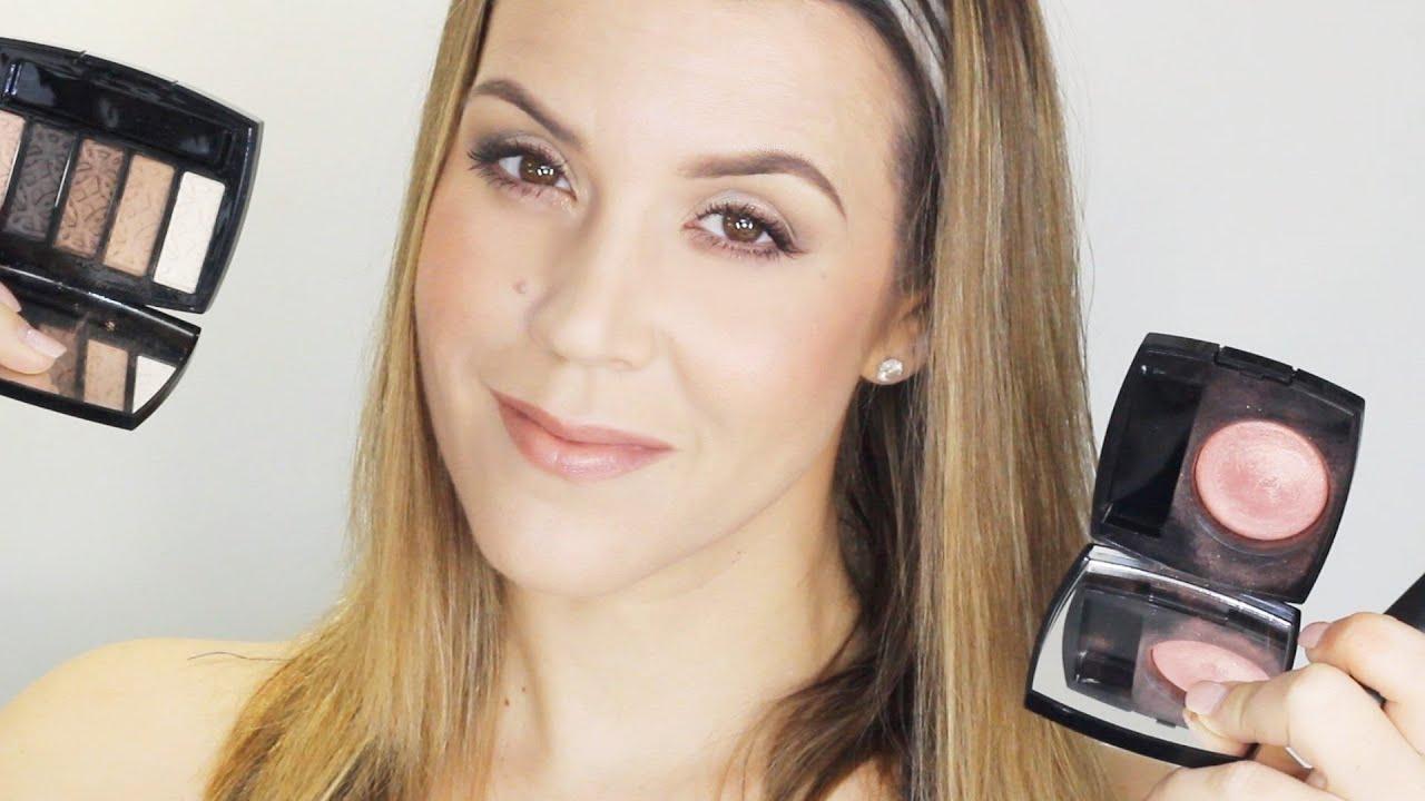 Chanel Fall 2015 First Impressions : Entrelacs Palette, Alezane Blush,  Pensive Lipstick  Youtube