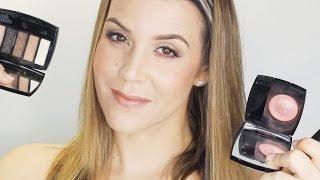 Chanel Fall 2015 First Impressions : Entrelacs Palette, Alezane Blush, Pensive Lipstick