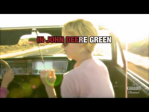 "John Deere Green in the Style of ""Joe Diffie"" with lyrics (no lead vocal)"
