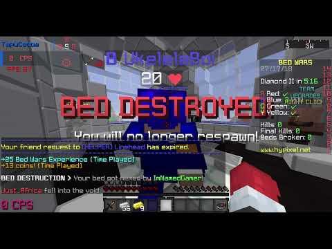 High IQ Minecraft Bedwars