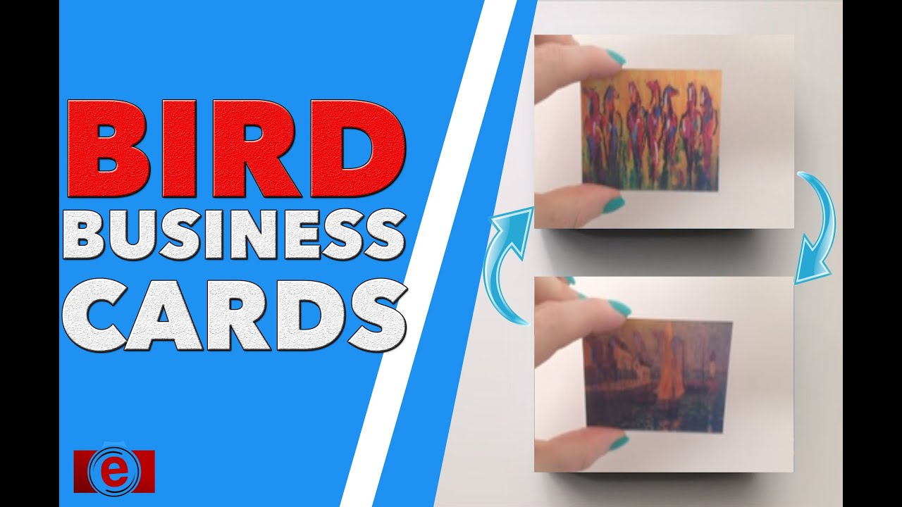 Business Cards Lenticular Animation