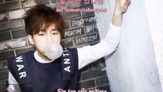 Kim Sunggyu - Daydream Ft.  Borderline TABLO & JW [Rom + Hangul + Sub Español]
