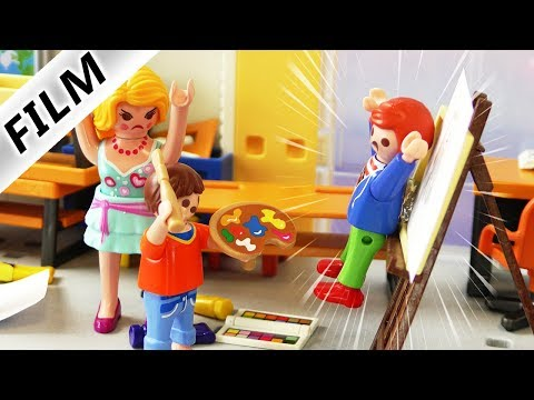 Playmobil Film deutsch | MOBBING? KUNST? Julians Kunstprojek