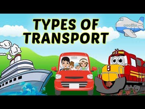 Modes of Transport   Types of Transport For Kids   Airways, Waterways &  Roadways For Kids