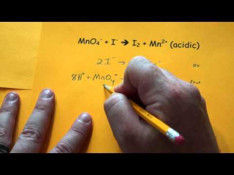 Balancing Redox Reactions (Acidic Conditions)