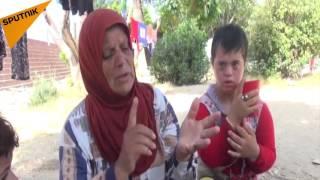 بالفيديو...امرأة سورية تصلي من أجل الطيارين الروس