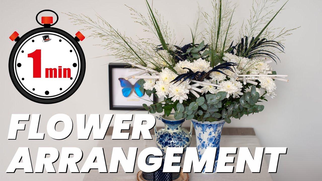 Букет в рамке из белых хризантем: Как сделать |  13+