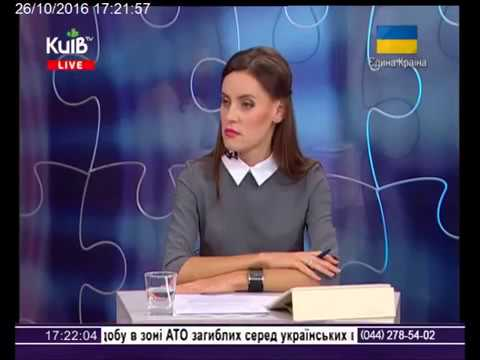 "26.10.2016 Alan Ross, ""Kyiv"" channel Ukraine - Алан Росс - телеканал Київ"