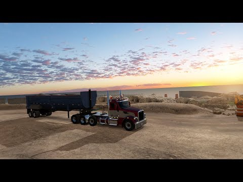 American Truck Simulator - Operation Big Sur [Peterbilt 567]