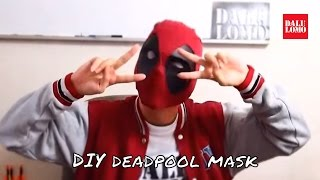 Make Deadpool Mask Part 2 - White Eyes & Fabric | Costume Prop // How to
